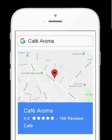 Nützliche Google-Bewertungen einholen